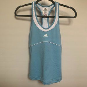 Adidas Blue Work Out Tank Top